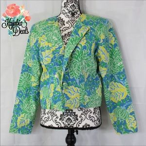 LILLY PULITZER Cropped Blazer. Size 8 💥JUST IN💥